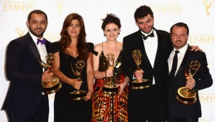 WE ARE DELIGHTED TO ANNOUNCE THAT THE SQUARE HAS WON THREE EMMY AWARDS